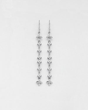 Long Twinkling Star Earrings