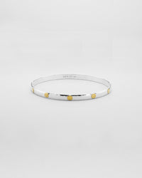 Bracewell Gold Inlay Bangle