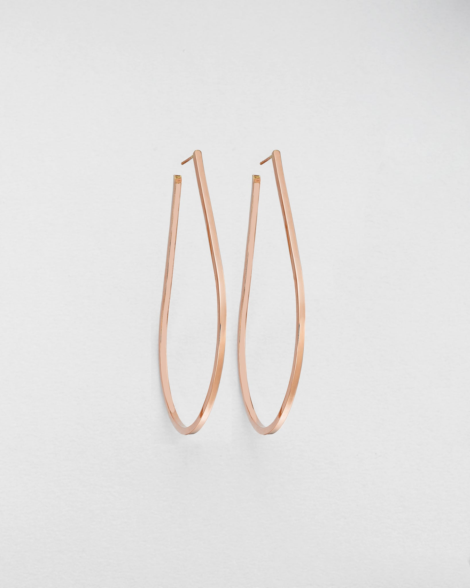 Teardrop Hula Earrings