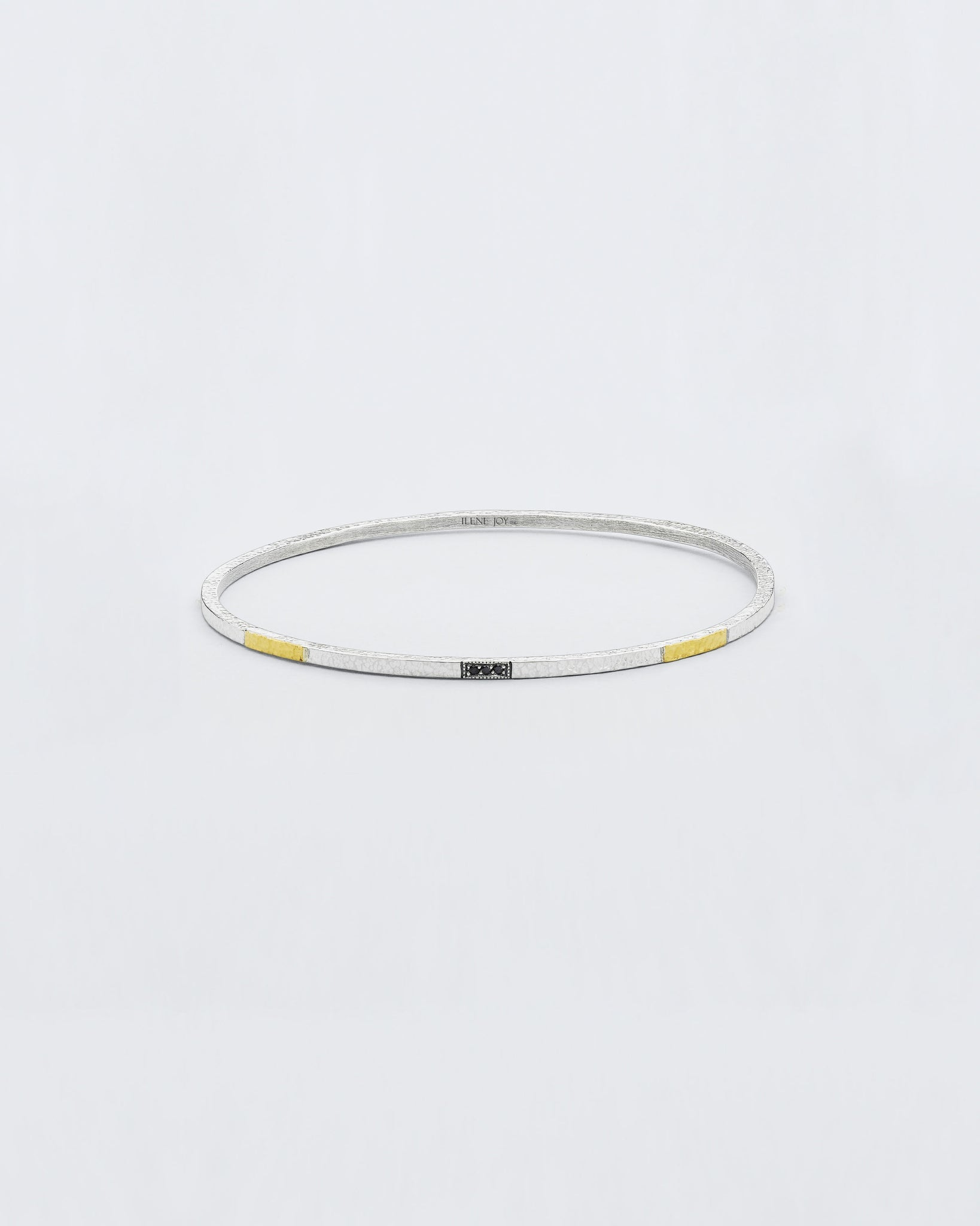 Bracewell Black Diamond Inlay Bangle