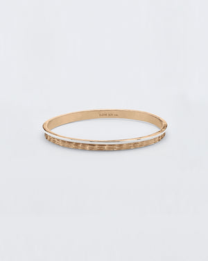Bracewell Etched Bangle