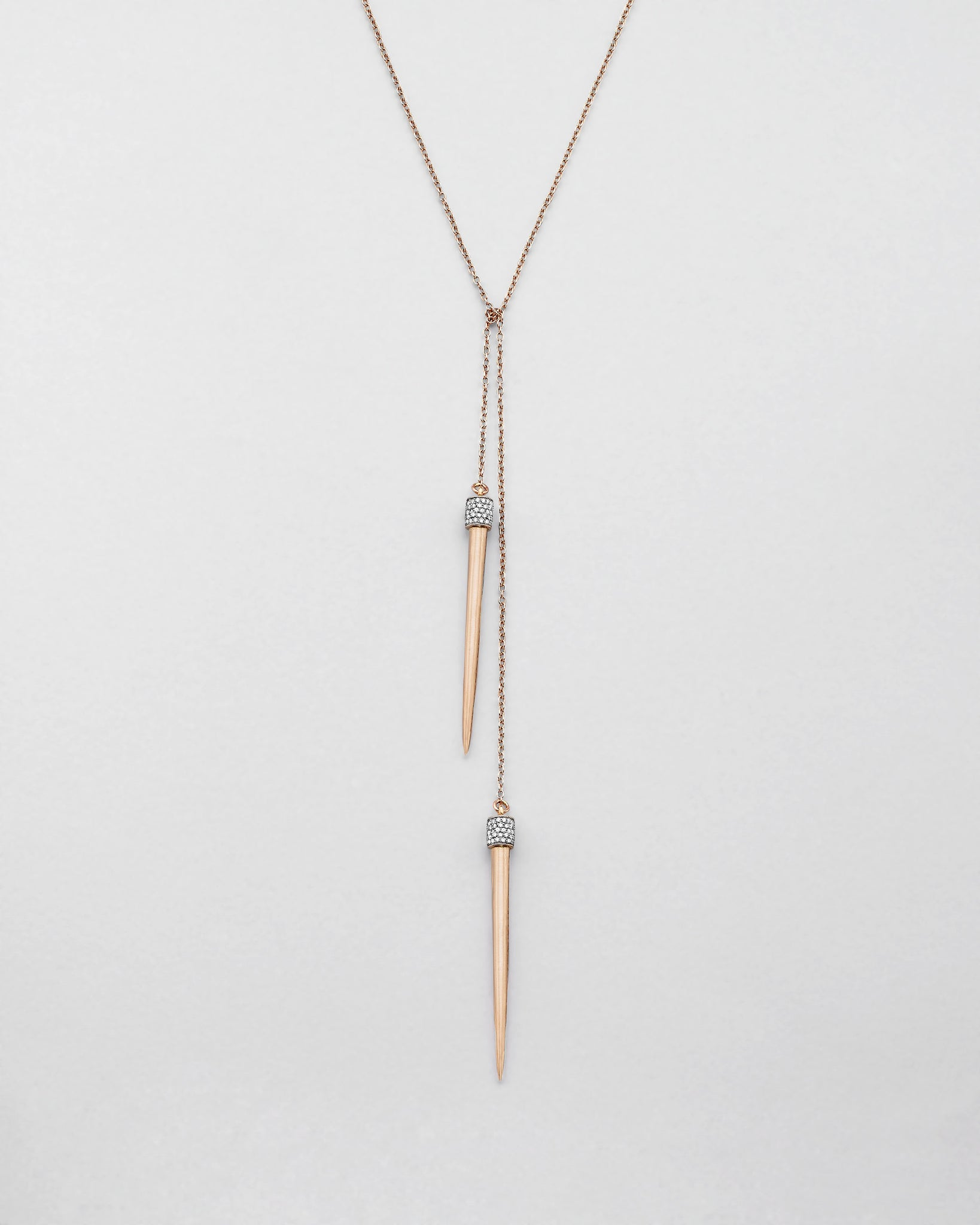 Split Ends Spike Lariat