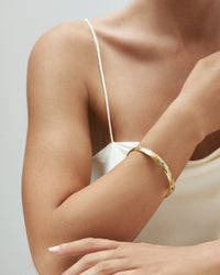 Bracewell Pointed Petal Bangle