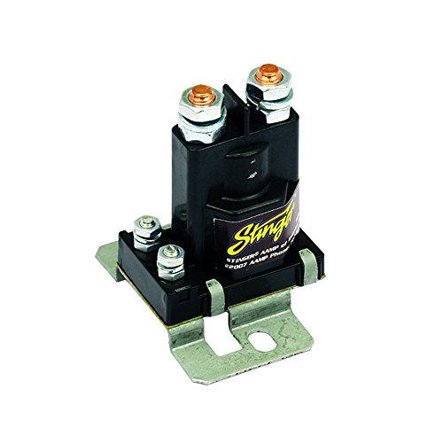 Stinger SGP38 80-AMP Battery Isolator and Relay,BLACK