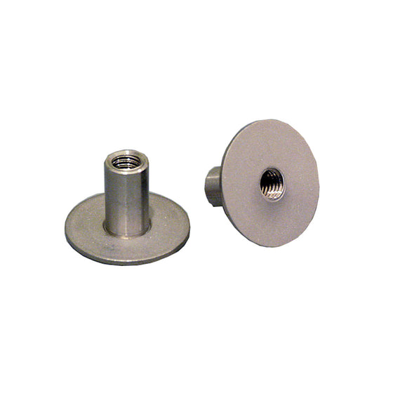 "Weld Mount 2"" Tall Stainless Stud w/1/4"" x 20 Threads - Qty. 10 [142032]"