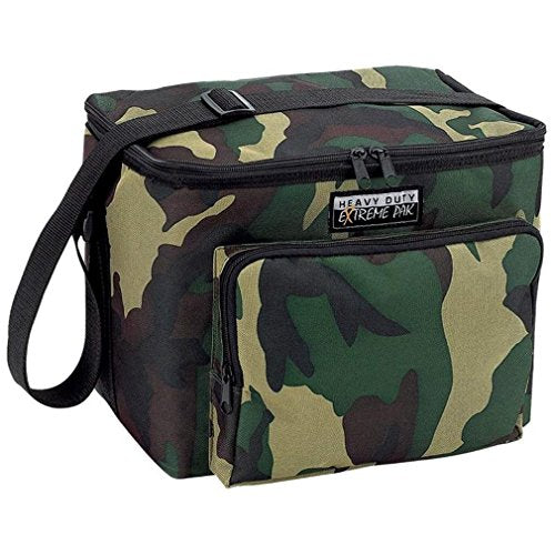 ExtremePak Trade Water-Resistant Heavy-Duty Cooler Bag, Camouflage