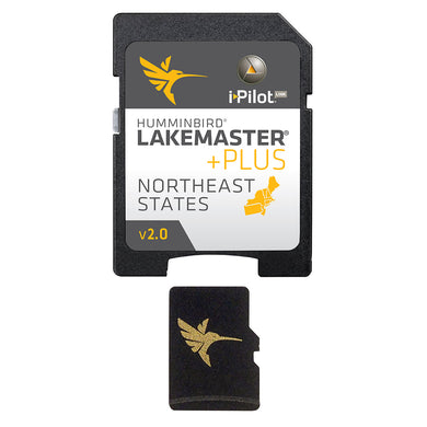 Humminbird LakeMaster Plus - NorthEast States - Version 2 [600045-4]