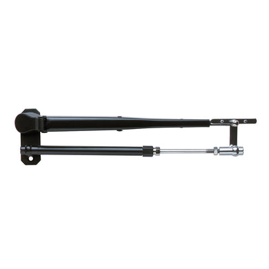 "Marinco Wiper Arm Deluxe Black Stainless Steel Pantographic - 17""-22"" Adjustable [33037A]"