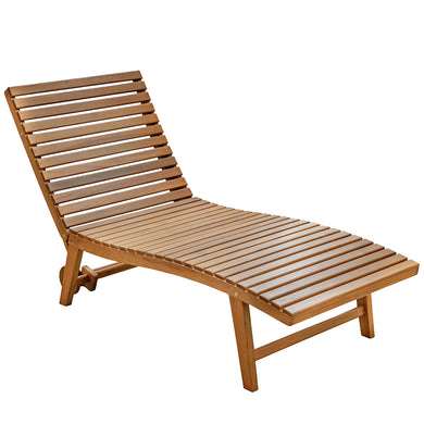 Whitecap Pool Lounge Chair - Teak [60070]