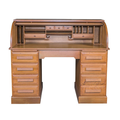 Whitecap Roll Top Desk (Oiled) - Teak [60075]