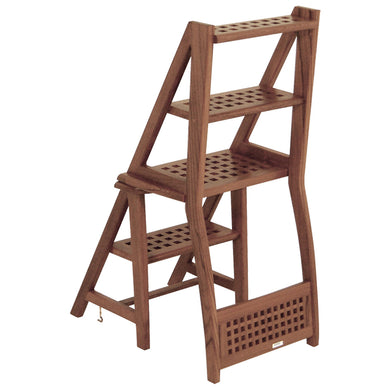 Whitecap Chair, Ladder, Steps - Teak [60089]
