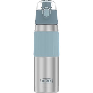 Thermos Vacuum Insulated 18oz Hydration Bottle - Stainless Steel w/Grey Grip [2465SSG6]