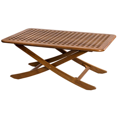 Whitecap Menora Table - Teak [63056]