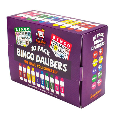 Assorted Bingo Daubers, 10-pack