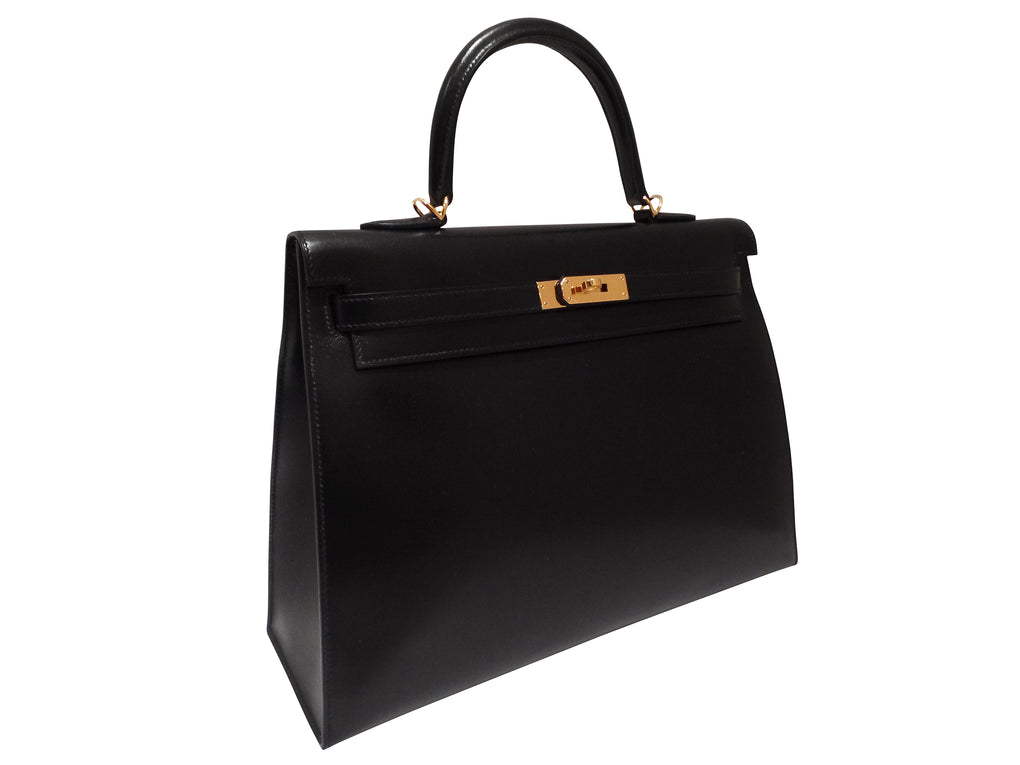 Kelly 35 Bag Black - AllTheBagz