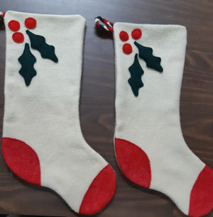 Christmas Stockings, pair ***