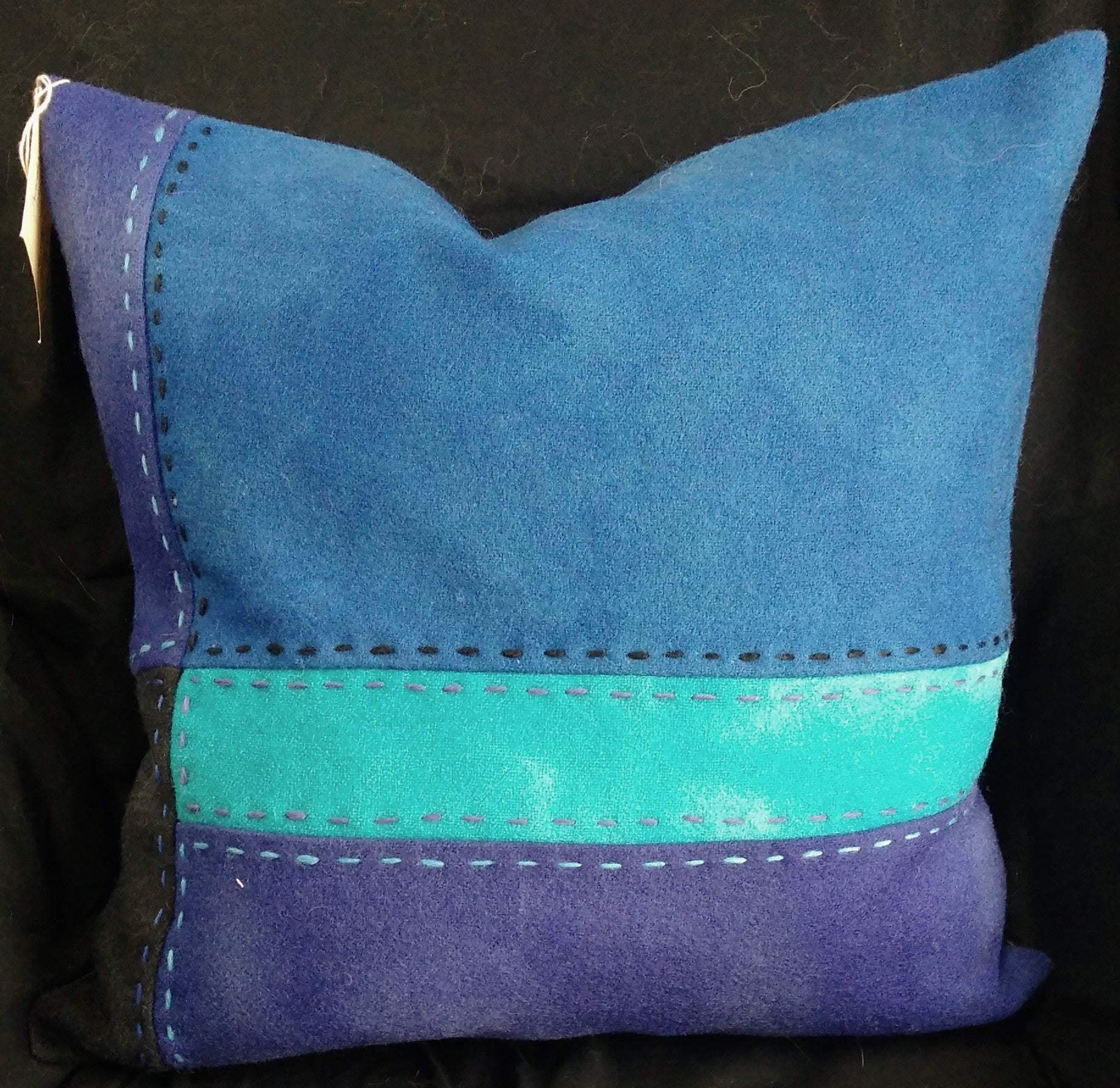 Wool pillow 11 & 12, pair