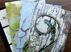 Set of 4 Art cards