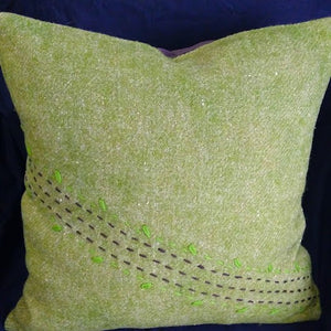 Wool pillow, pair ***