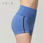 TE ATA NOTO Short  Dutch Blue - HAKA Active Yoga Activewear