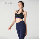WAIATA Bra Jet Black - HAKA Active Yoga Activewear