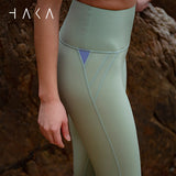 Taha Legging Fern Green - HAKA Active Yoga Activewear