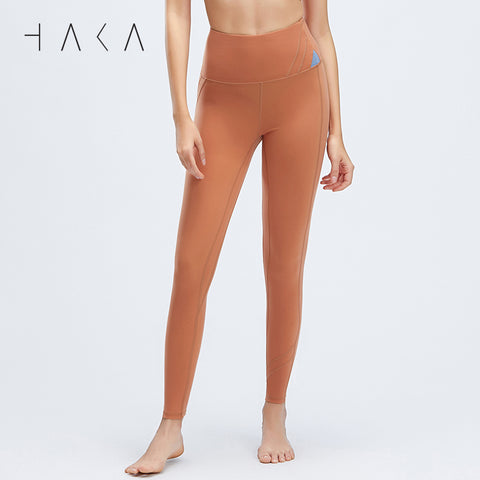 Taha Legging Red Fox - HAKA Active Yoga Activewear