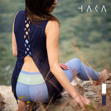 Tie Back Tank - HAKA Active Yoga Activewear