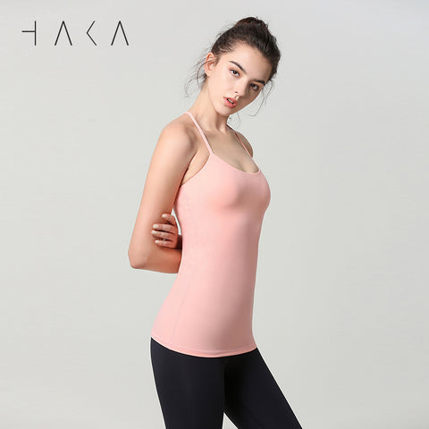 SUPREME Tank Candle Peach - HAKA Active Yoga Activewear