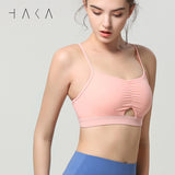 FLEX Bra Top Candle Peach - HAKA Active Yoga Activewear