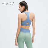 TAURITE Bra Top Fern Green - HAKA Active Yoga Activewear