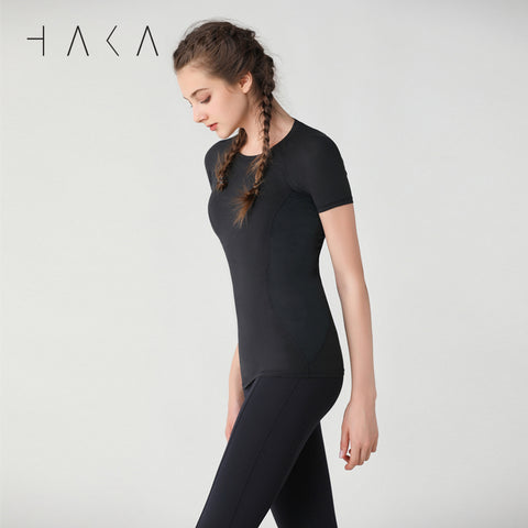 TUTURA Short Sleeve - HAKA Active Yoga Activewear