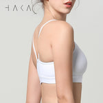 FLEX Bra Top Snow White - HAKA Active Yoga Activewear