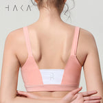 RANGIMARIE Bra Top Candel Peach - HAKA Active Yoga Activewear