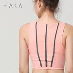 TE ATA NOHO Bra Top Candle Peach - HAKA Active Yoga Activewear