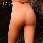Anau Legging Red Fox - HAKA Active Yoga Activewear