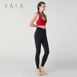 POURI Legging Jet Black - HAKA Active Yoga Activewear