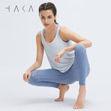 Taurite Legging Cornflower blue - HAKA Active Yoga Activewear