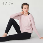 MOVES Tee Dusky Pink - HAKA Active Yoga Activewear