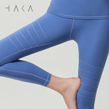 BREAKTHROUGH Legging Dutch Blue - HAKA Active Yoga Activewear