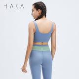 Tiaki Bra Top Cornflower blue - HAKA Active Yoga Activewear