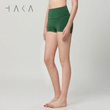 TE ATA NOTO Short  Moss Green - HAKA Active Yoga Activewear