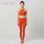 WAI UA Bra Top Red Clay - HAKA Active Yoga Activewear