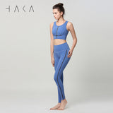 RANGIMARIE Legging Dutch Blue - HAKA Active Yoga Activewear