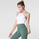 MAUNGA Bra Top White - HAKA Active Yoga Activewear