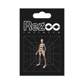 Rez Infinite - Level 03 Player Form Pin