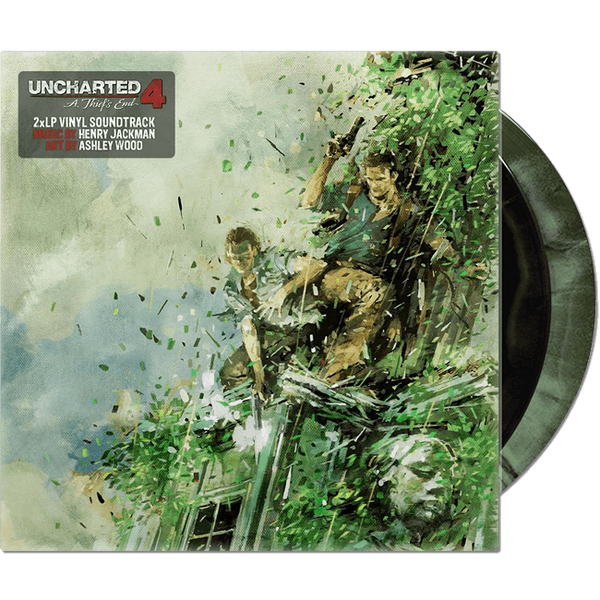 Uncharted 4 Vinyl Soundtrack 2xLP