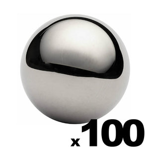 "100 - 1"" Inch G25 Precision Chrome Steel Bearing Balls"