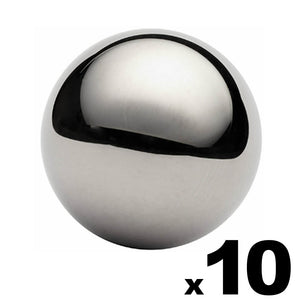 "10 - 1-1/2"" (1.5"") Inch G25 Precision Chrome Steel Bearing Balls"