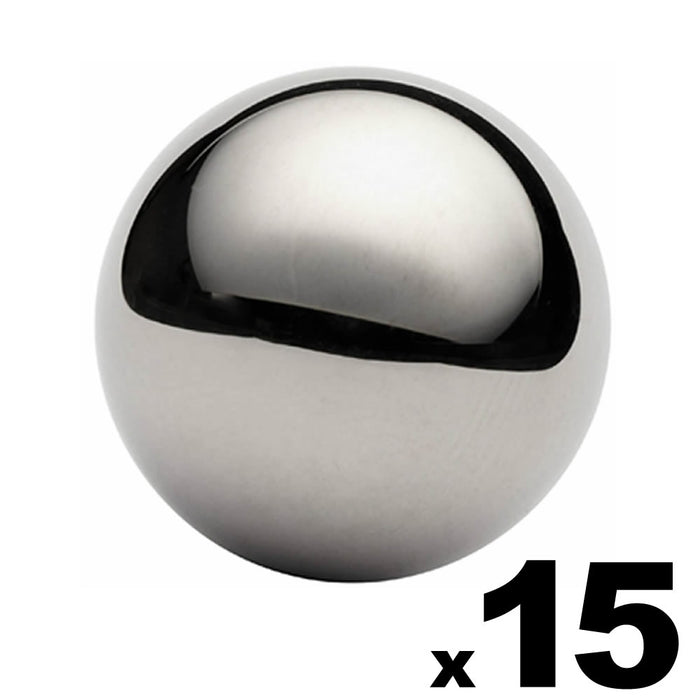 "15 - 1-1/2"" (1.5"") Inch G25 Precision Chrome Steel Bearing Balls"
